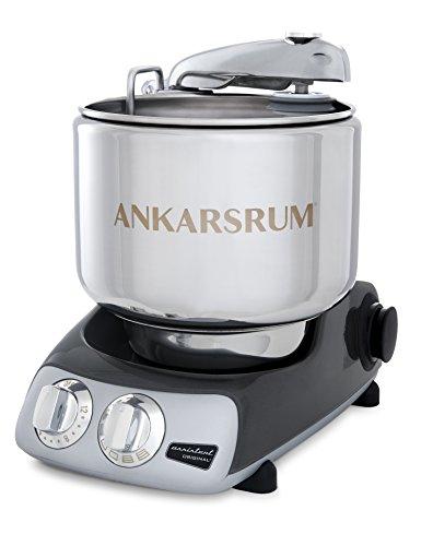 Ankarsrum Original 6230 Black Chrome and Stainless Steel 7 Liter Stand Mixer