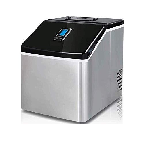 AYDQC Toneladora portátil de la máquina de Hielo: máquina de Fabricante de Cubos de Hielo, Hace 25 kg de Hielo en 24 hrs, Tanque de 2.2 l, máquina para cocinas, Bares, Fiestas Peng fengong