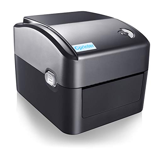 CPRINTER Thermal Label Printer, can use USB or Bluetooth Connection, Compatible with Windows Mac Linux, 4x6 inch Thermal Label Printer, Suitable for Logistics Express Industry, Receipt Label Printer