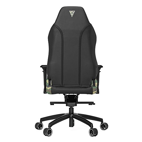 Product Image 6: Vertagear P-Line 6000 Racing Series Gaming Chair, X-Large, Black/Camouflage
