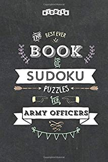 The Best Ever Book of Sudoku Puzzles for Army Officers