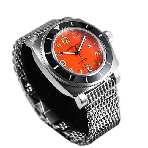 TEMPORE LUX V One Swiss Automatic 05 Orange Watch - MILANESE