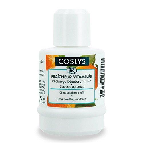 Recharge 50 ml Déodorant Fraîcheur vitaminée Agrumes bio