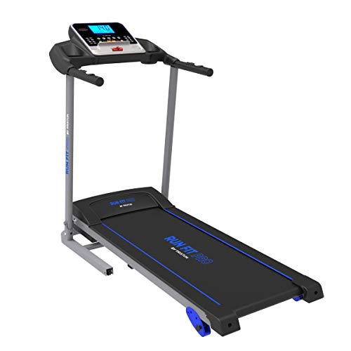 PRIXTON Run Fit RF200 - Cinta de Correr Electrica Plegable/Cintas de Andar Electricas Plegables con Velocidad e Inclinacion Regulable, Soporte Tablet/móvil, Pulsómetro y Pantalla LED (Reacondicionado)