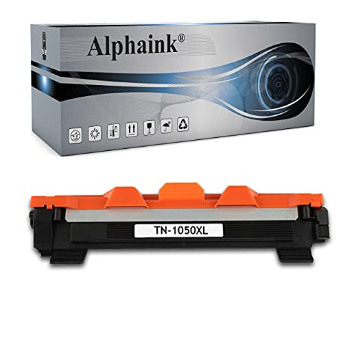 Alphaink Toner compatibile con Brother TN-1050 TN-1000 versione XL da 2000 Copie per stampanti Brother HL-1210W HL-1212W HL-1110 HL-1112 DCP-1510 DCP-1512 DCP-1610W DCP-1612W MFC-1810 MFC-1910W