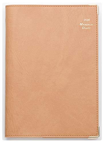 2020年 マンダラ手帳 B6サイズ(キャメル)