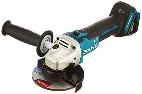 MAKITA DGA504Z DGA504Z-Miniamoladora 18V Litio 125mm BL, 0 W, 18 V, Negro, One size