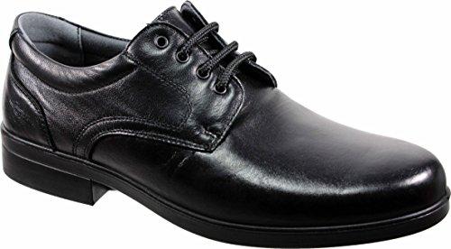 LUISETTI 26853 Negro - Zapato Cordones Piel Profesional Fabr