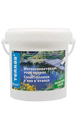TERRAA+ Conditionneur Conditionner étangs et Plan d'eau, Blanc