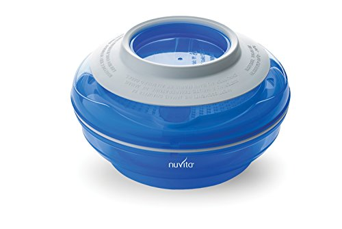 Nuvita Pappafacile Set de Table Multi-Usage 4 en 1 Bleu