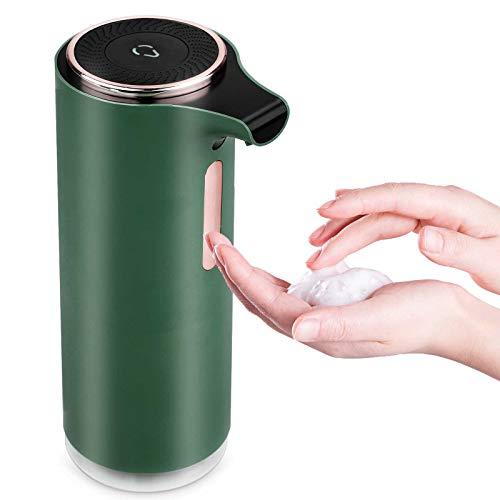 Dispenser Sapone Automatico,250ml 8.5Oz 3 Acqua: 1 Liquido,Dispenser Sapone Liquido Parete con sensore di movimento,Dispenser Sapone Automatico Infrarossi Dispenser Gel Disinfettante Per bagno, cucina