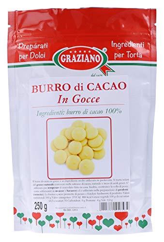 Graziano Burro Di Cacao In Gocce - 250 g