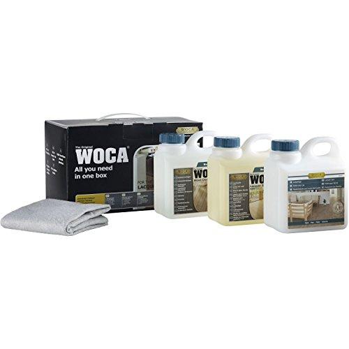 Woca 699974-AM - Vinilo y box para el cuidado de la pintura