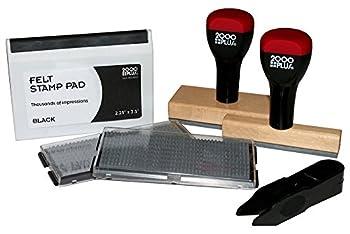 2000 PLUS Custom Stamp Kit 2-Line and 7-Line Stamps  030968