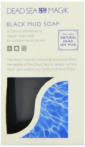 Dead Sea Spa Magik Black Mud Soap 100g