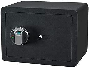 Jolitac Biometric Cabinet Safes for Home, Fingerprint Security Safe Box Fireproof Solid Carbon Steel Locking Safe Case for Gun, Money, Jewelry (0.77 Cubic Feet)