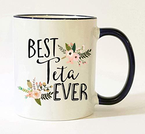 Lplpol Taza de café Teta de Dason Teta, regalo de Teta Teta, Teta, Teta, Teta, Teta, Teta, Teta, Teta, Teta, Teta Grandma 11