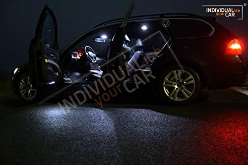 Innenraumbeleuchtung SET für 3er E91 Touring (Mit Panoramadach, Cool-White)