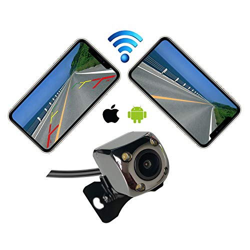 Casoda WiFi Wireless Backup Camera for iPhone and Android