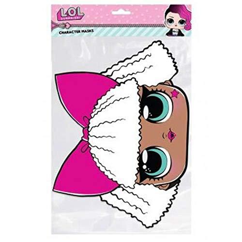 Rubie's LOL Surprise-Maske Diva für Kinder bunt