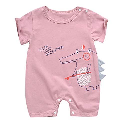 Julhold 2019 Zomer Pasgeboren Baby Jongen Meisje Leuke Casual Korte Mouw Jumpsuit Zon Cloud Maan Print Katoen Rompers 0-18 Maanden