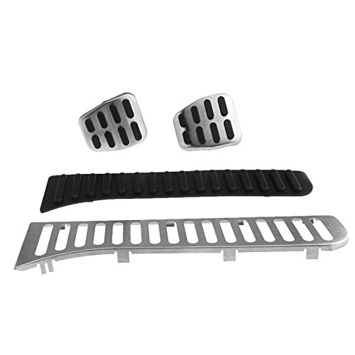 D2D Fuel Brake Clutch Pedal Covers Accelerator Pedal Clutch Pads Kit for...