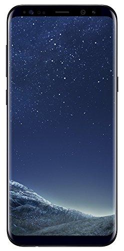 Samsung Galaxy S8 Plus 64GB 6.2in 12MP SIM-Free Smartphone in Midnight Black (Renewed)