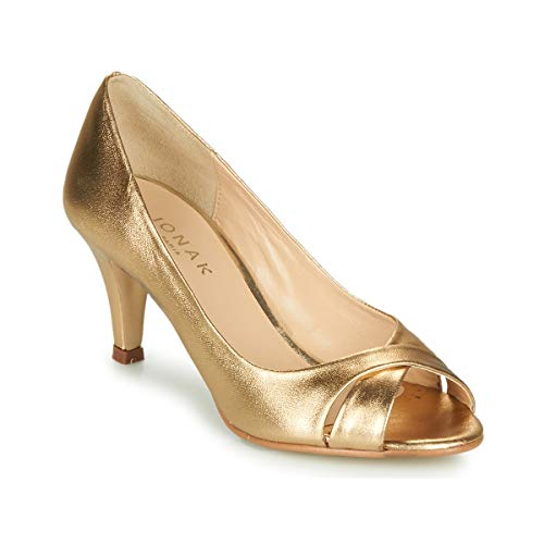 JONAK Diane Pumps Damen Goldfarben - 38 - Pumps Shoes