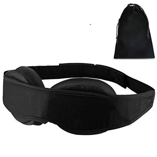 WWWL Schlafmaske Augenmaske Schlafende Augenmaske modular verstellbar 3D atmungsaktive Reise Eyepatch Rest Servietten Artefakt weiche Lidschatten Abdeckung Anti-Insomnie