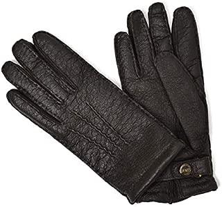 [DENTS【デンツ】]手袋/グローブ 15-1564 Bark Peccary&Cashmere lining(ブラウン ペッカリー&カシミアライニング)