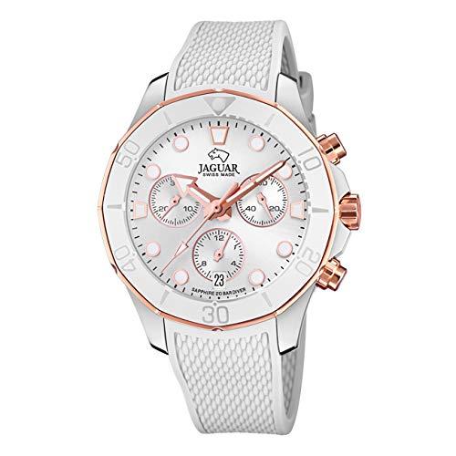 JAGUAR Reloj Modelo J890/1 de la colección Woman, Caja de 38,50/38,50 mm Plata con Correa...