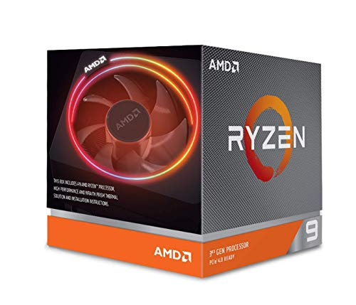 AMDRyzen93900XwithWraithPrismcooler3.8GHz12コア/24スレッド70MB105W100-100000023BOX三年保証[並行輸入品]