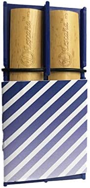 Challenge the lowest price Blue Tenor Saxophone Max 47% OFF Slanted Stripes Lesc Holder Rockin' by Reed