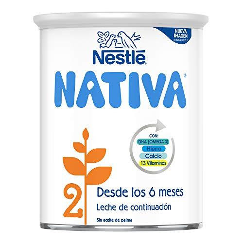 NESTLÉ NATIVA 2 - Leche de fórmula para bebé a partir de los 6 meses