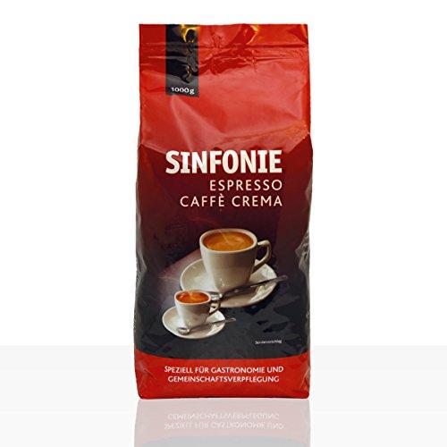 JACOBS Kaffeebohnen SINFONIE CAFFÈ CREMA 1,0 kg
