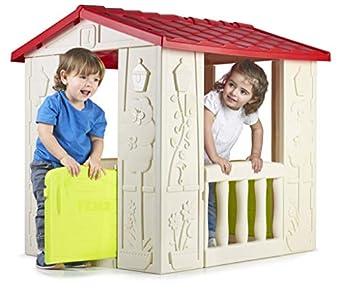 FEBER - Casa Happy House, casita infantil para niños y niñas de los 2 a los 6 años (Famosa 800012380)