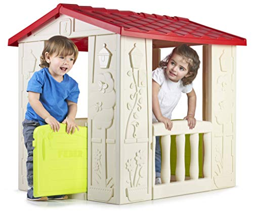 Feber 800012380 Casetta da Gioco Happy House,...