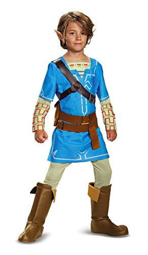 Link Breath of The Wild Deluxe Costume 10-12