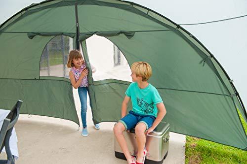 Coleman Sicht- und Windschutz als Türelement für Event Shelter, 4,5 x 4,5m - 4