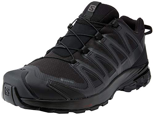 Salomon Men's Trail Running Shoes, XA PRO 3D v8 GTX, Colour: Black (Black/Black/Black), Size: UK size 10.5