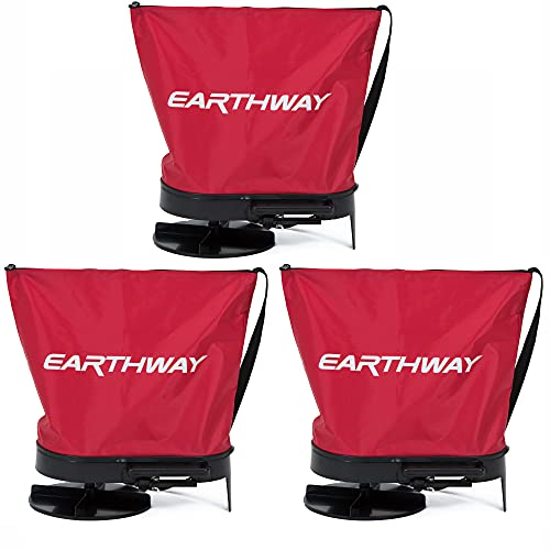 Earthway Hand Crank Garden Seeder Adaptable Seed & Fertilizer Spreader (3 Pack)