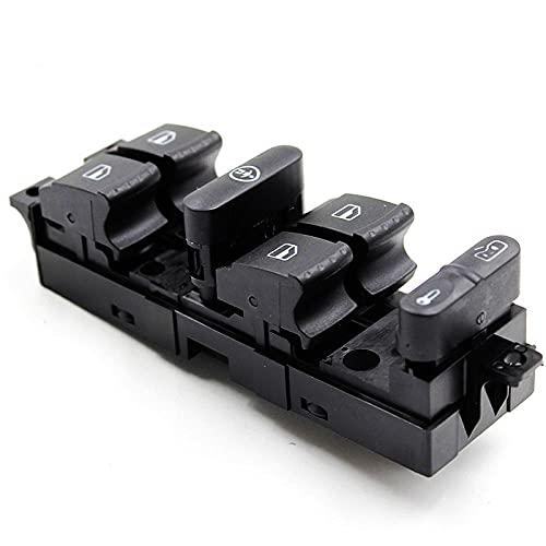 Aliyeyee Interruptor Maestro de Ventana eléctrica para VW MK4 Bora Golf Passat Fabia Superb para Seat Leon 1J4959857
