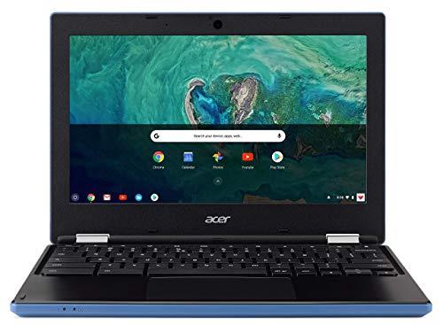 Acer Chromebook 11 CB3-132 - (Intel Celeron N3060, 2GB RAM, 16GB eMMC, 11.6 inch HD Display, Google Chrome OS, Blue) (Renewed)