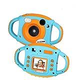 Zacro Kids Caméra Enfants Caméra Appareil Photo Numérique pour Enfant WiFi intégré/5MP/11 Langues/Caméras Doubles Avant et...