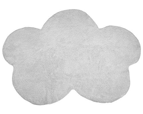 Happy Decor Kids hdk-207 Tapis lavable Cloud, gris, 120 x 160 cm