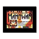 Manowar - Gods of war - Live Matted Mini Poster - 21x13.5cm