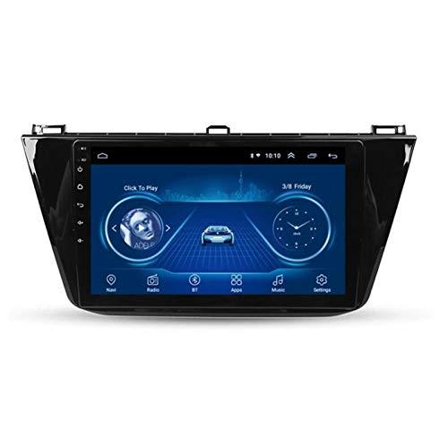 Android 8.1 Car Radio GPS Navigation Autoradio per Tiguan L 2017-2018 Bluetooth/WiFi Internet Multimedia Video Player Supporto Bluetooth Hands Free Calling