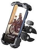 Lamicall Soporte Movil Bicicleta, Soporte Motocicleta - Rotación 360° Soporte Manillar para iPhone 12 Pro Max, 12 Mini, 11 Pro, XS Max, X, XR, 8, 7, 6S, Samsung S10 S9 S8, Huawei, 4.7-6.8' Smartphones