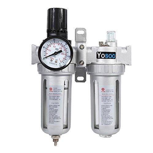 Water- en olieafscheider, regelaar filter compressor spuitmond voor compressor