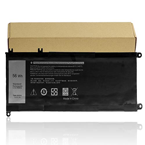 33YDH Battery Replacement for Dell Inspiron 15 7577 17 7000 7778 7779 7773 Dell G3 15 3579 17 3779,G5 5587,G7 7588 Latitude 3590 3580 3490 3380 Series 99NF2 [15.2V 56Wh]